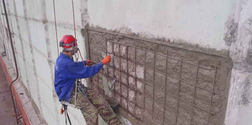 Ремонтные работы по бетону