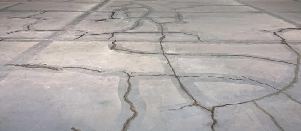 Разновидности повреждений бетона