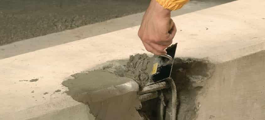 Ремонт бетона составом Скрепа М500