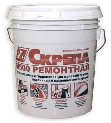 Смесь для поверхностного ремонта бетона