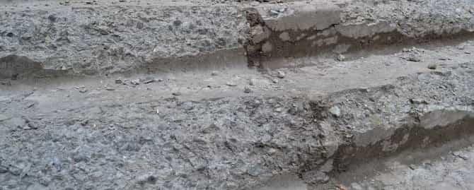 Разрушение бетона без гидрофобизатора